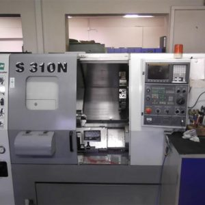 CNC Lathe With 12-fold Tool Changer